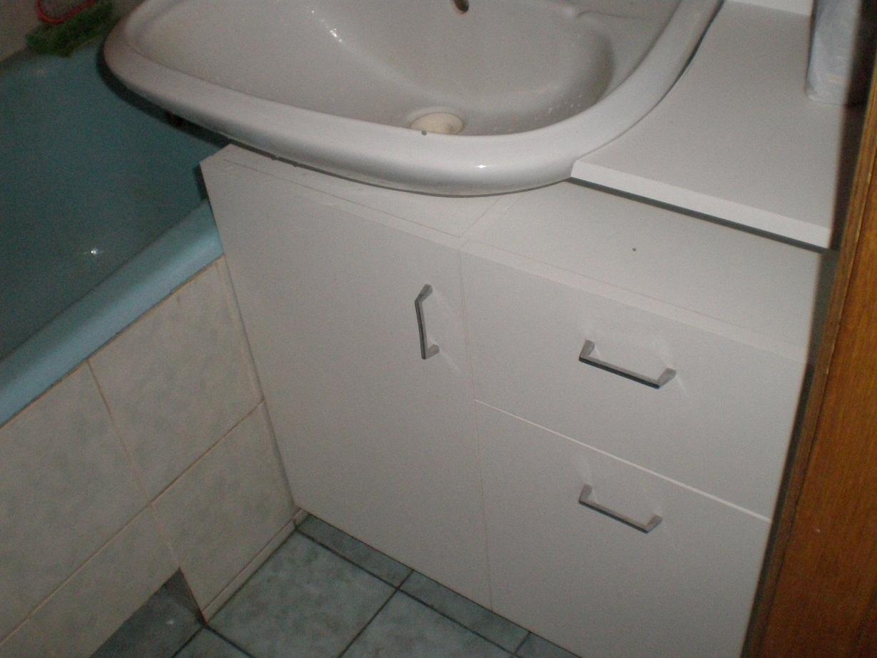 Шкаф в ванную комнату под раковину своими руками